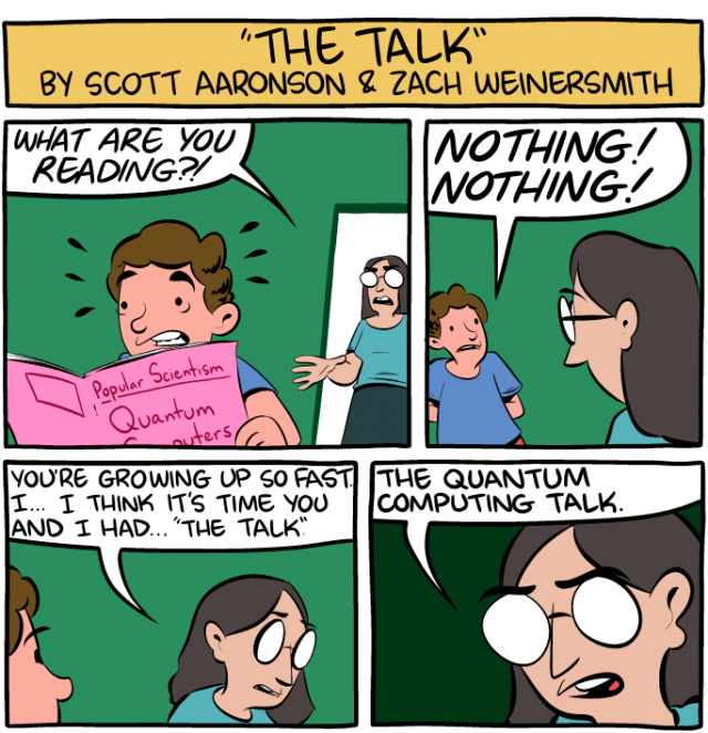 """I think it's time we have """"The Talk""""   Entangled Physics"""